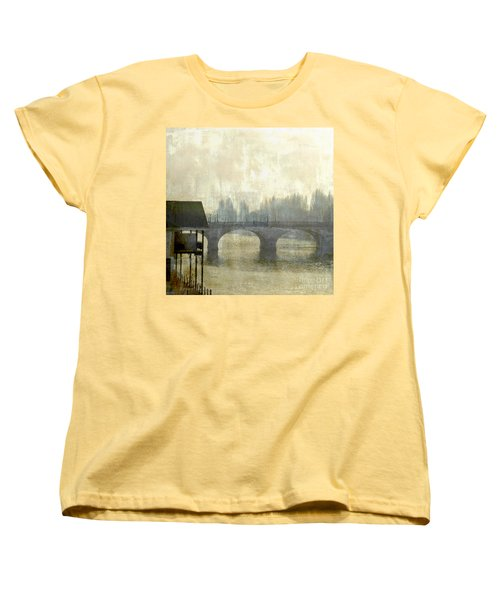 Women's T-Shirt (Standard Cut) featuring the photograph Dissolving Mist by LemonArt Photography