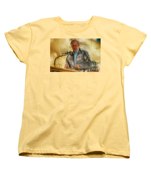 Donald Rumsfeld Women's T-Shirt (Standard Cut) by Brian Reaves