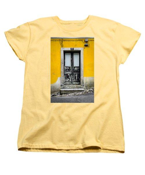 Door No 37 Women's T-Shirt (Standard Cut) by Marco Oliveira