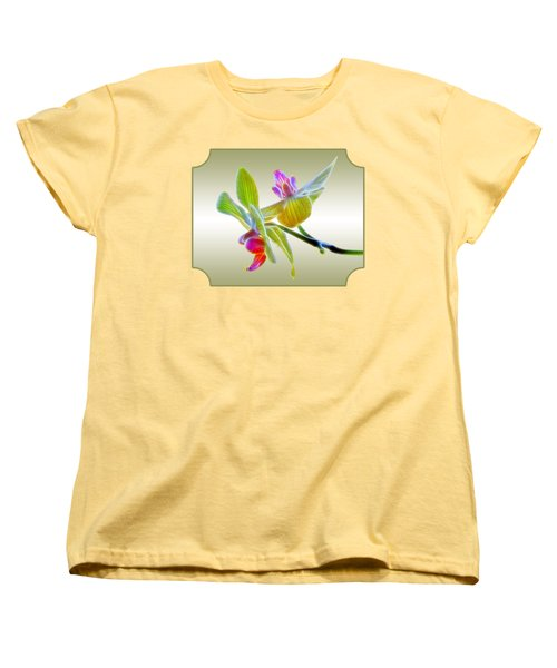Dragon Glow Orchid Women's T-Shirt (Standard Fit)