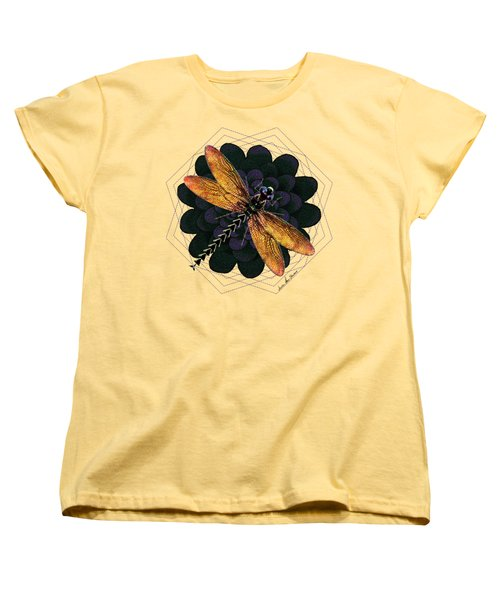 Dragonfly Snookum Women's T-Shirt (Standard Cut) by Iowan Stone-Flowers