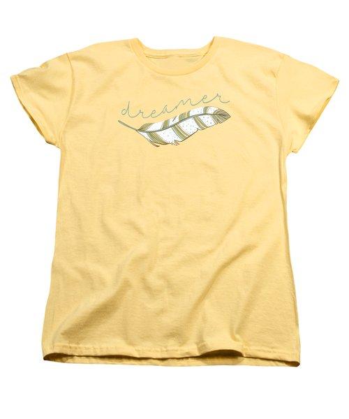 Dreamer Women's T-Shirt (Standard Cut) by Heather Applegate