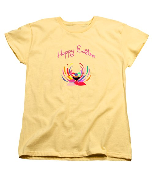 Easter Basket Women's T-Shirt (Standard Cut) by Methune Hively