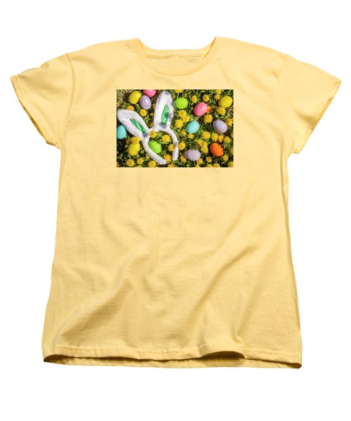 Women's T-Shirt (Standard Cut) featuring the photograph Easter Morning by Teri Virbickis
