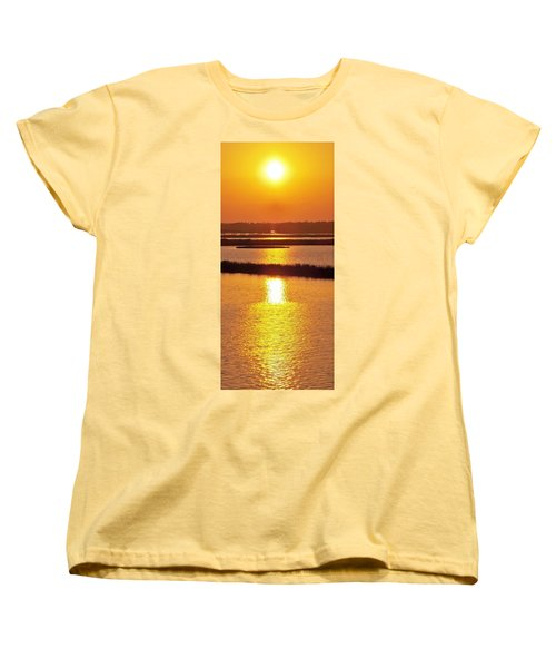 Easter Sunset Southwest Louisiana Women's T-Shirt (Standard Cut) by John Glass