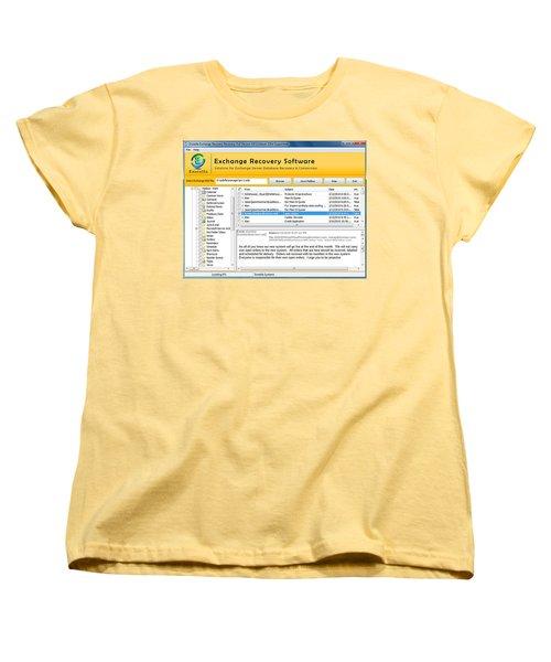 Edb To Ps T Software  Women's T-Shirt (Standard Cut) by Tomcruise