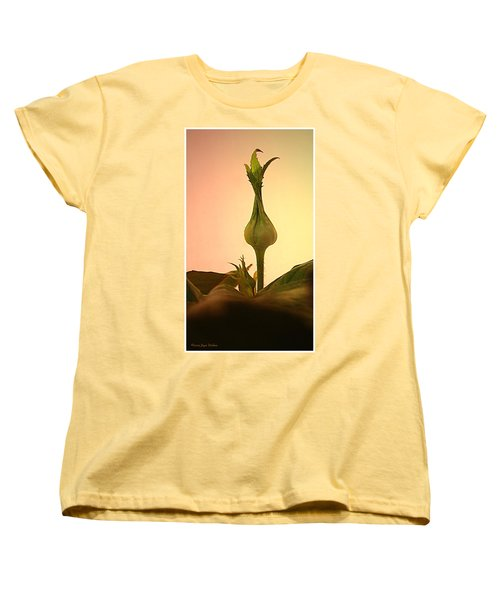 Women's T-Shirt (Standard Cut) featuring the photograph Embrace by Joyce Dickens