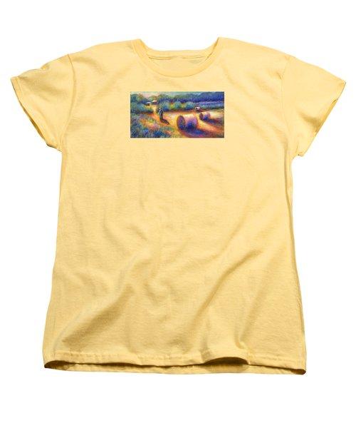 End Of A Well Spent Day Women's T-Shirt (Standard Cut) by Retta Stephenson