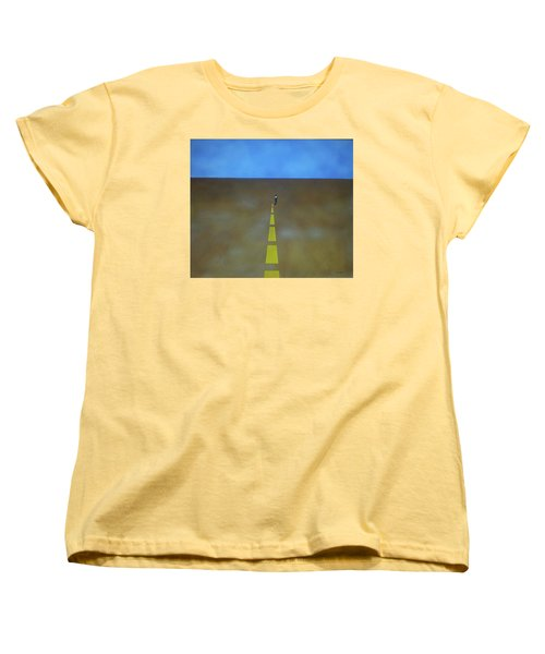 End Of The Line Women's T-Shirt (Standard Cut) by Thomas Blood