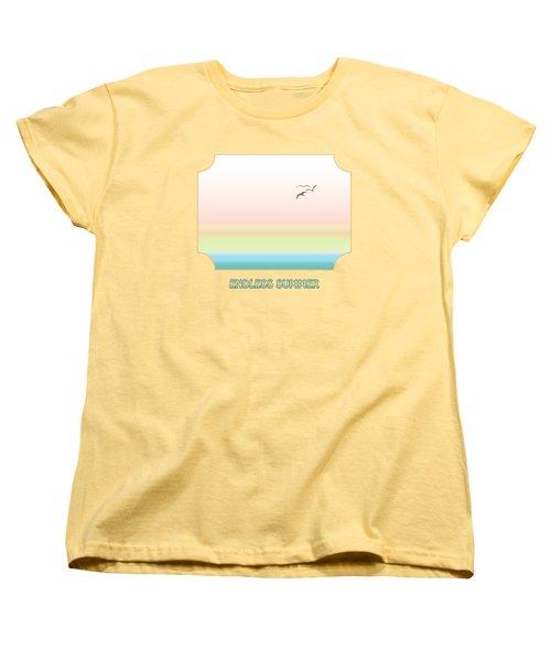 Endless Summer - Yellow Women's T-Shirt (Standard Cut)
