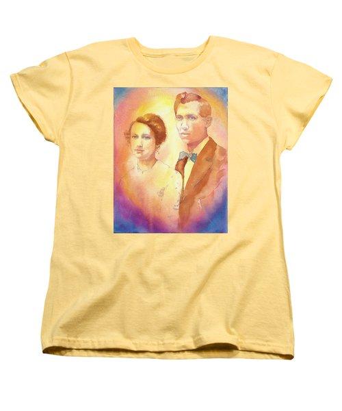Engagement Day Women's T-Shirt (Standard Cut) by Tara Moorman