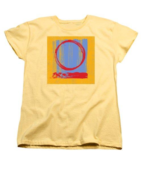Enso Women's T-Shirt (Standard Cut) by Julie Niemela