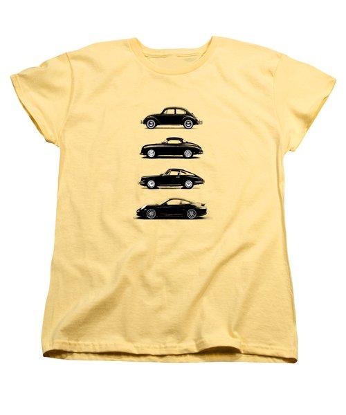Evolution Women's T-Shirt (Standard Cut) by Mark Rogan