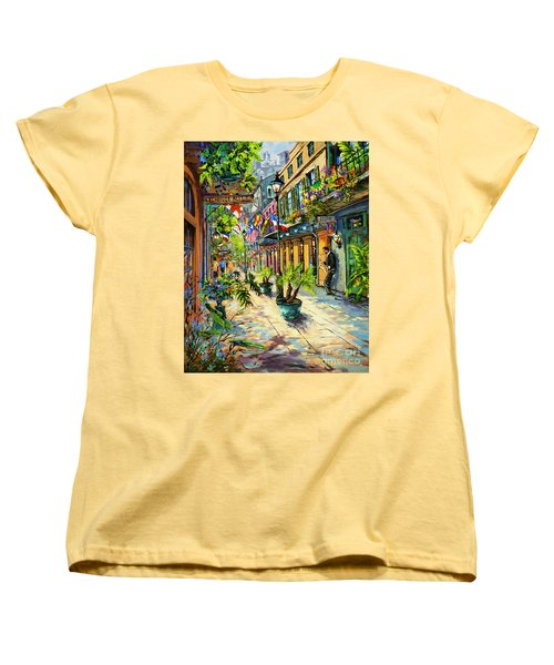 Exchange Alley Women's T-Shirt (Standard Cut) by Dianne Parks