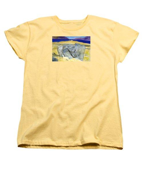 Faces Of The Rocks Women's T-Shirt (Standard Cut)