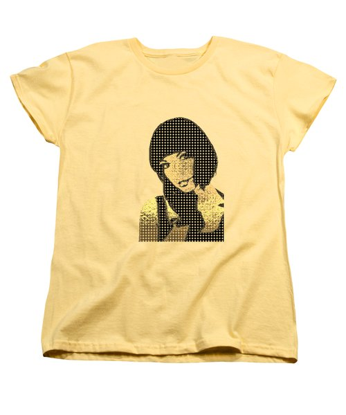 Fading Memories - The Golden Days No.3 Women's T-Shirt (Standard Cut) by Serge Averbukh