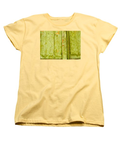 Women's T-Shirt (Standard Cut) featuring the photograph Fading Old Paint by John Williams