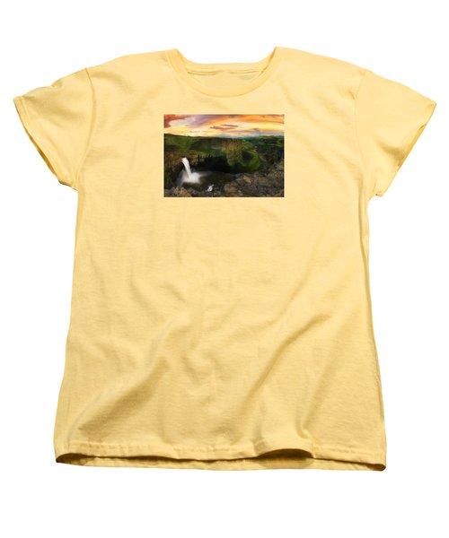 Falling Women's T-Shirt (Standard Cut) by Ryan Manuel