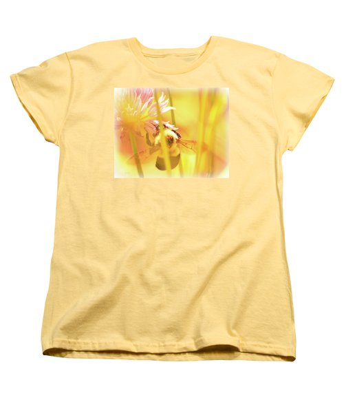 Fame Is A Bee Women's T-Shirt (Standard Cut) by Bob Orsillo