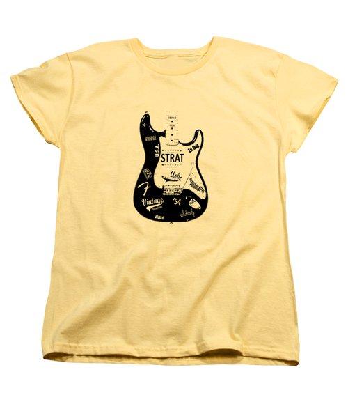 Fender Stratocaster 54 Women's T-Shirt (Standard Fit)