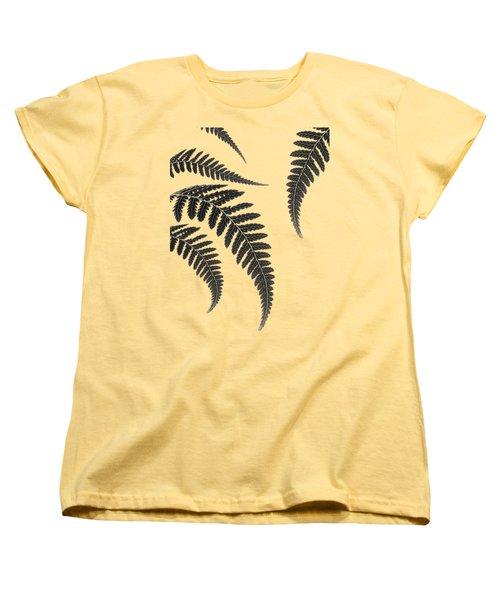Fern Leaves Women's T-Shirt (Standard Fit)