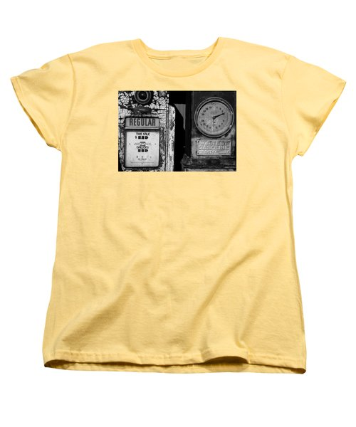 Women's T-Shirt (Standard Cut) featuring the photograph Fill Er Up by Michael Nowotny