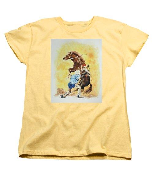Final Appeal Women's T-Shirt (Standard Cut) by Jimmy Smith