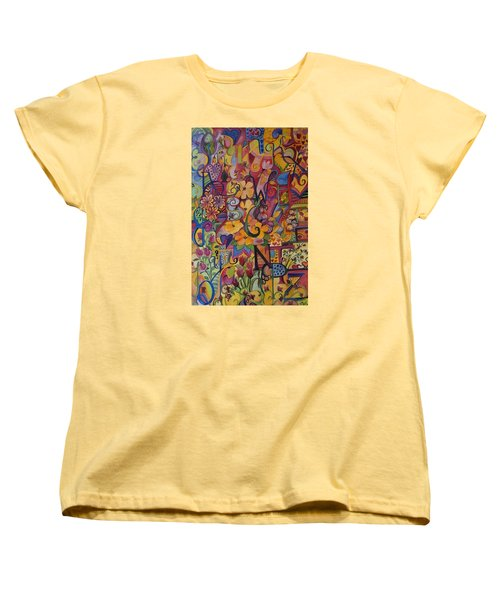 Find My A Women's T-Shirt (Standard Cut) by Claudia Cole Meek