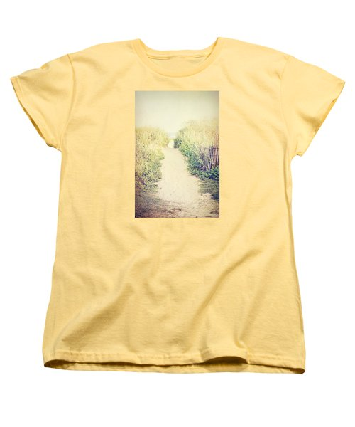 Women's T-Shirt (Standard Cut) featuring the photograph Finding Your Way by Trish Mistric