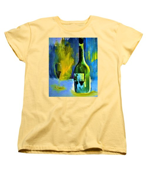 Fine Wine Glow Women's T-Shirt (Standard Cut) by Lisa Kaiser