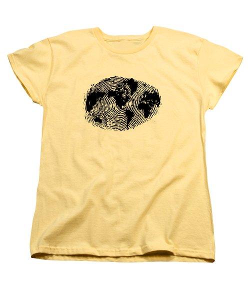fingerprint 20X30 Women's T-Shirt (Standard Fit)