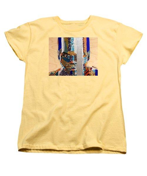 Finn Star Wars Awakens Afrofuturist  Women's T-Shirt (Standard Cut)