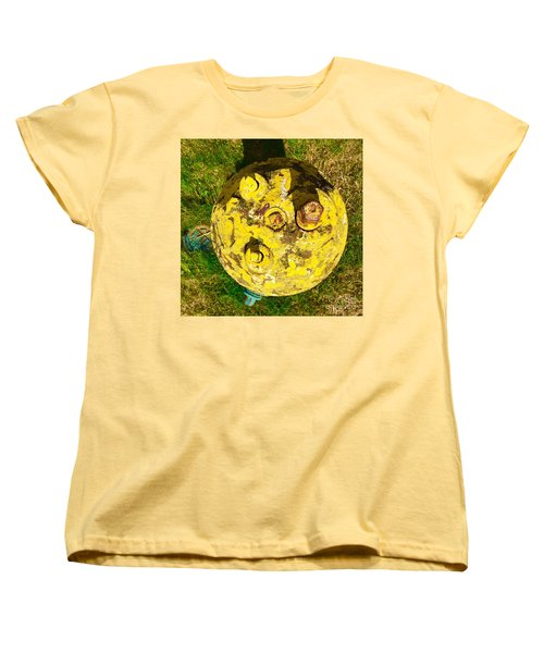 Fire Hydrant #1 Women's T-Shirt (Standard Cut) by Suzanne Lorenz
