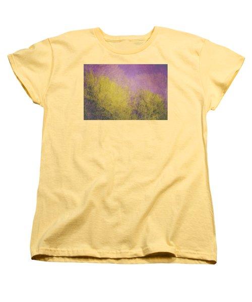 Women's T-Shirt (Standard Cut) featuring the photograph Flaming Foliage 3 by Ari Salmela