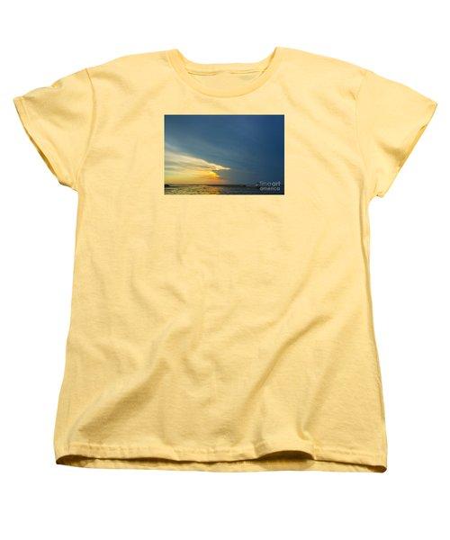 Flats Of Brewster, Cape Cod Women's T-Shirt (Standard Cut) by Diane Diederich