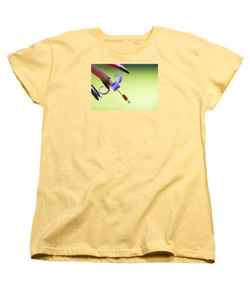 Fleur-de-lis Women's T-Shirt (Standard Cut) by Evelyn Tambour
