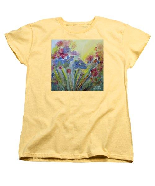 Floral Splendor Women's T-Shirt (Standard Cut) by Stacey Zimmerman