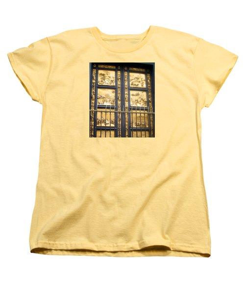 Florence Baptistry Doors Women's T-Shirt (Standard Cut) by Lisa Boyd