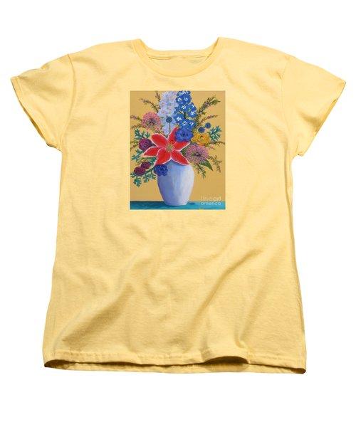 Florist's Creation Women's T-Shirt (Standard Cut) by Anne Marie Brown