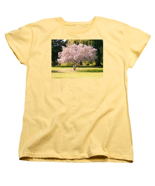 Flowering Tree Women's T-Shirt (Standard Cut) by Mark Barclay