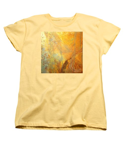 Forest Gold Women's T-Shirt (Standard Cut) by Michael Rock