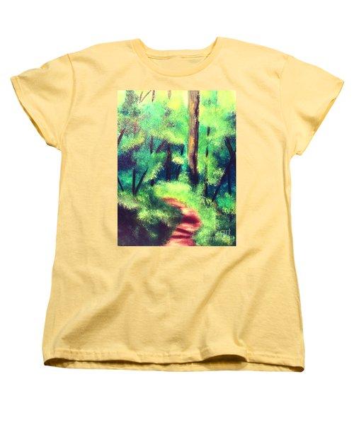 Forest Path Women's T-Shirt (Standard Cut)