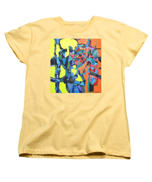 Forgotten Memories Of Broken Promises Women's T-Shirt (Standard Cut) by Bernard Goodman
