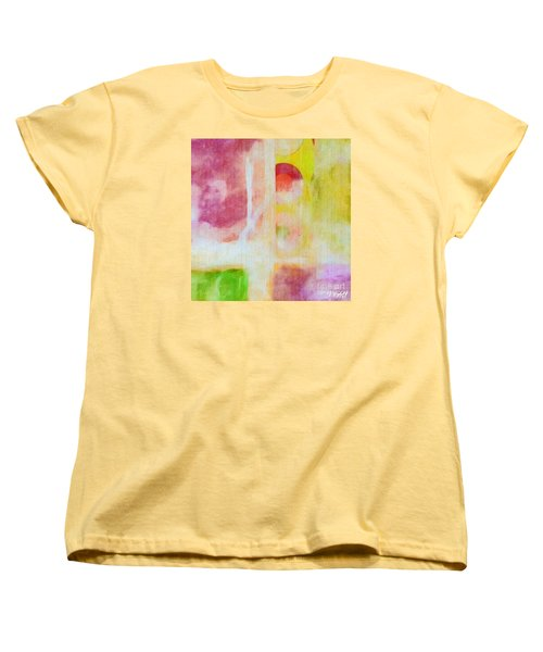 Women's T-Shirt (Standard Cut) featuring the photograph Four Corners by William Wyckoff