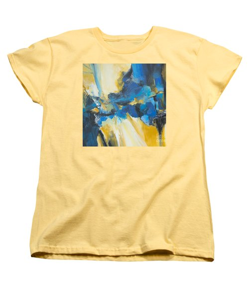 Fragments Of Time Women's T-Shirt (Standard Cut) by Glory Wood