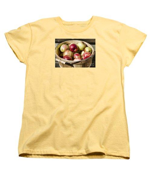 Women's T-Shirt (Standard Cut) featuring the photograph Fresh Apples by Alana Ranney