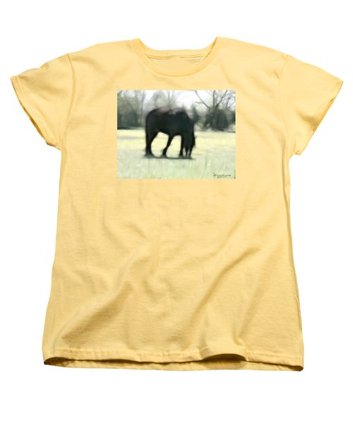 Women's T-Shirt (Standard Cut) featuring the photograph Friend Of Distinction  by EricaMaxine  Price