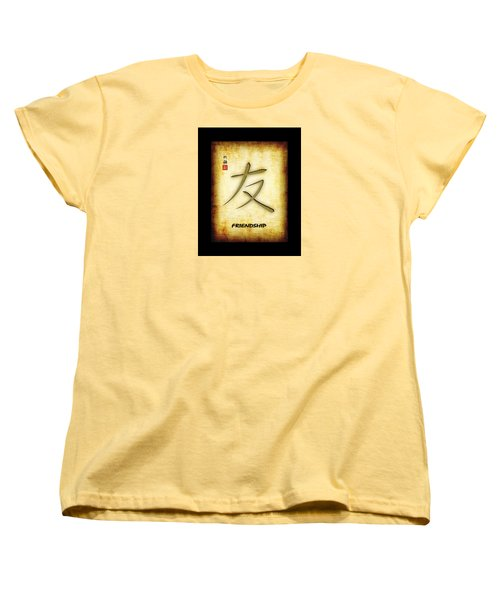 Friendship  Women's T-Shirt (Standard Cut) by John Wills