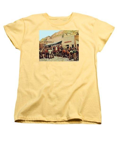 General Store Women's T-Shirt (Standard Cut) by Susan Leggett