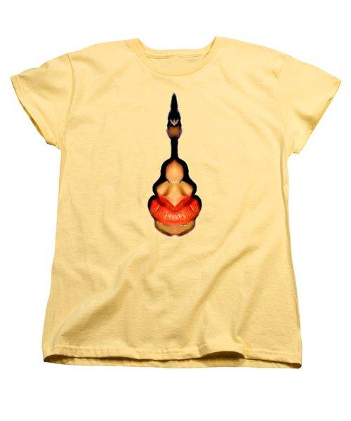 Genie In The Bottle Women's T-Shirt (Standard Cut) by Rafael Salazar